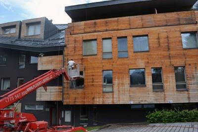 Nátěry dřevěného obložení - Harrachov