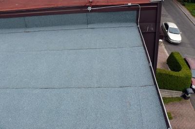 Asfaltové pásy - rekonstrukce střechy